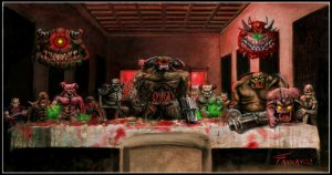 last supper doom