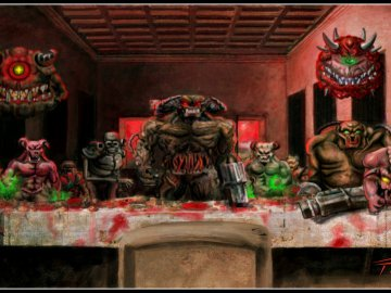 last supper doom