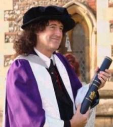 24072018: Brian May chitarrista dei Queen è un astrofisico