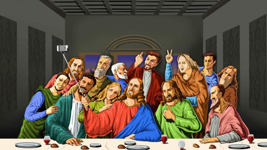 last supper selfie