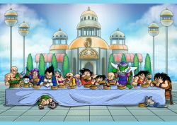 05102018: #lastsupper ultima cena dragon ball #5ottobre #dragon #ball