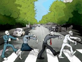 Abbey Road Zombie