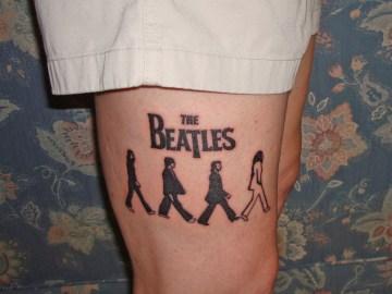 abbey road tattoo