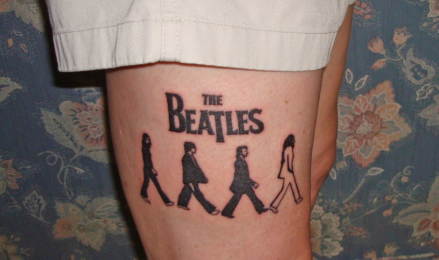 abbey road tattoo