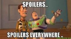 Cosa significa spoilerare o fare lo spoiler di una serie TV