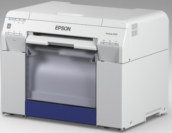 Fotoproduktionsdrucker Epson Surelab D700