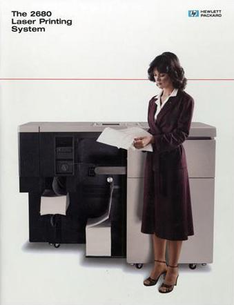 HPs erster Laserdrucker, der HP 2680A