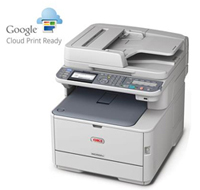 Google Cloud Printing mit OKI