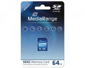 64GB-SD-Karte Class 10 von MediaRange