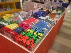 Alles was man für die Schule braucht, gibt es auf unserem großen Schulmarkt in den Spandau-Arcaden.