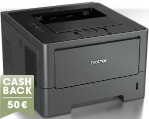 Nutzt man den Brother-Cashback, dann bekommt man den Drucker für 135 €
