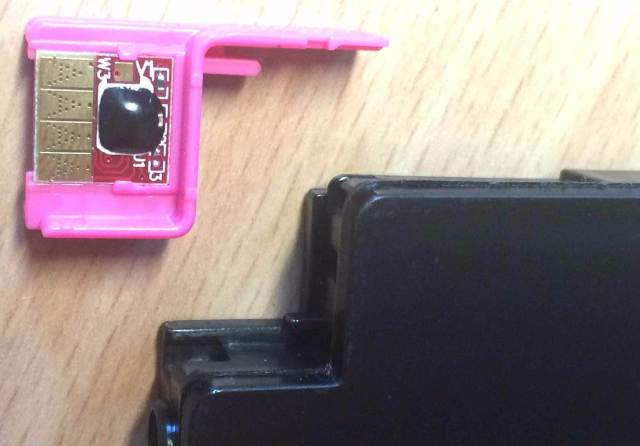 Einfach austauschbarer Chip: Eine Lösung gute für das Problem?