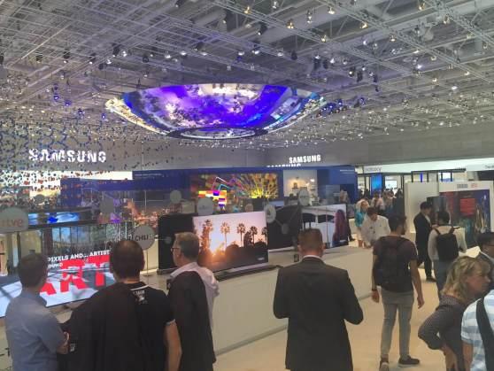 Auch in diesem Jahr wieder beeindruckend: Die Samsung Halle im City-Cube