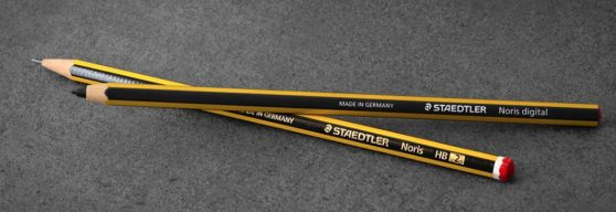 Der Noris Bleistift und der Noris Digital