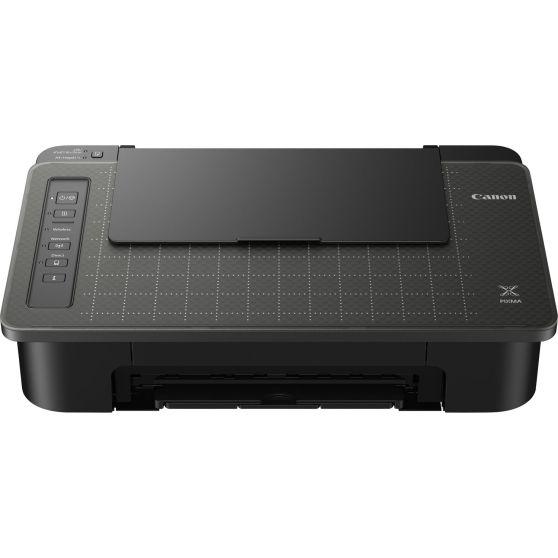 Der Canon Pixma TS305 hat eine gepunktete Oberfläche als Kopierauflage.