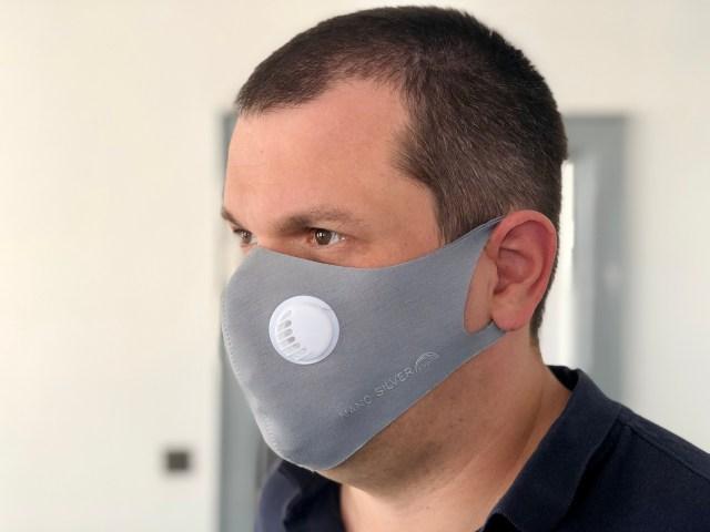 Die Nano-Silber Maske ist sogar FFP3 geprüft