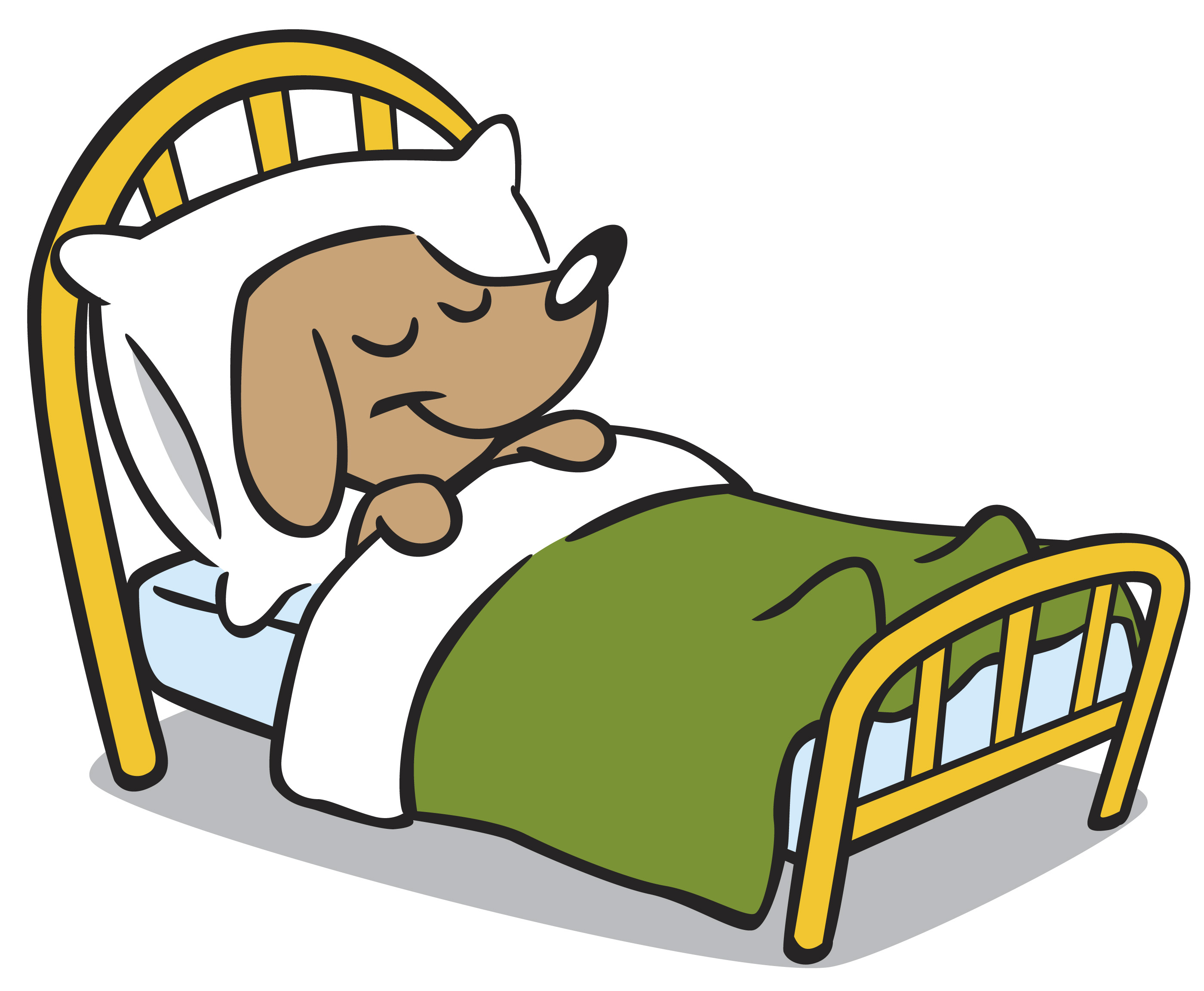 Dog Bed Clipart