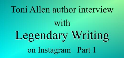 Legendary Writing blog post Part 1