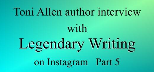 Legendary Writing blog post Part 5