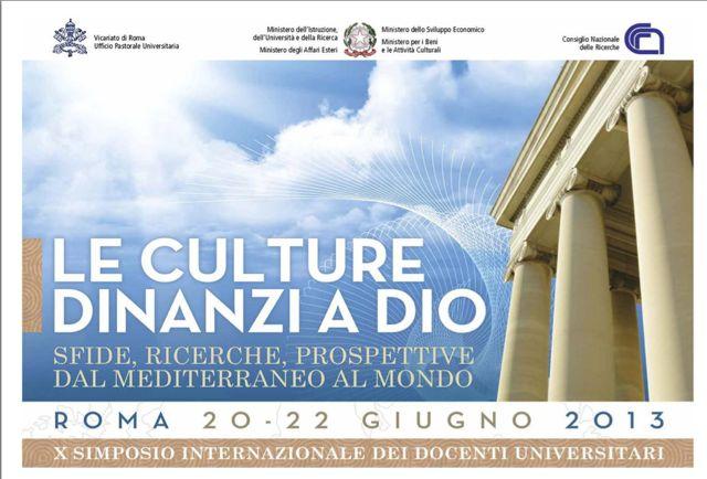Le Culture Dinanzi A Dio  Sfide  Ricerche  Prospettive