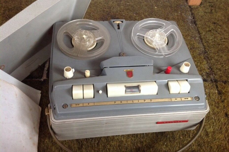 Philips 4 Track Tape Recorder