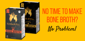 free kettle and fire bone broth