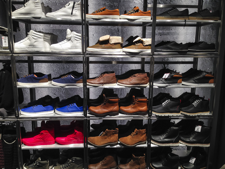 Bershka Opening Dresden - Sneakers for the masses