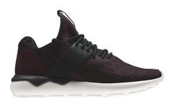 Tubular Runner Prime Knit_Burgundy_lateral