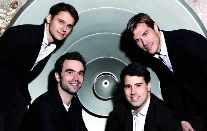 Quatuor Modigliani, violon, alto, violoncelle