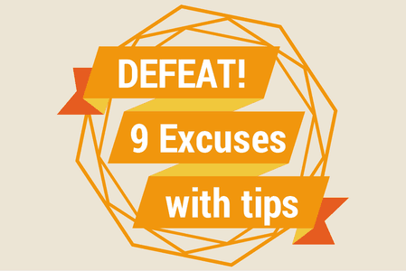 Defeating thank you note excuses