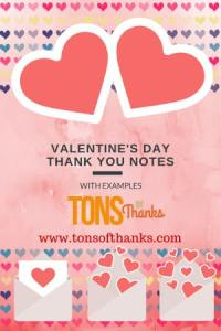 Write a thank you note for Valentine's Day gifts in 5 minutes or less