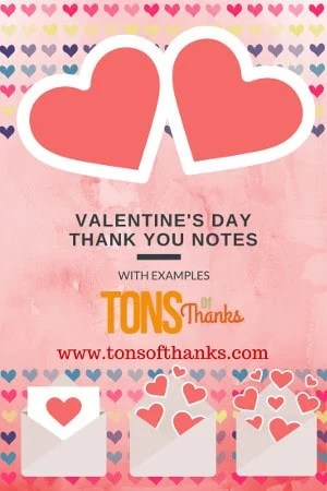 write a thank you note for valentine's day gifts in 5 minutes or less, Ideas