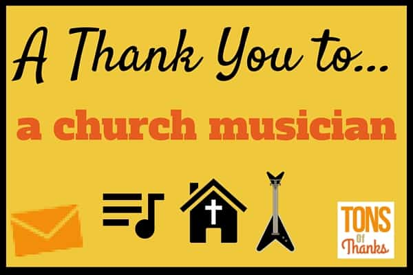 Thank you to a church musician organist praise band member etc most church services include music take a moment to thank the musician this post altavistaventures Images