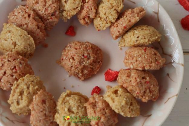 Печенье Кокосово-Клубничное