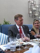 Aurelio Montes and female admirer