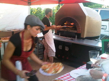 Pizza to go at I4C