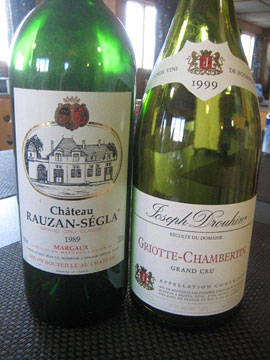 Wines for filet mignon