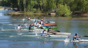 Kayaking on the Rio Negro
