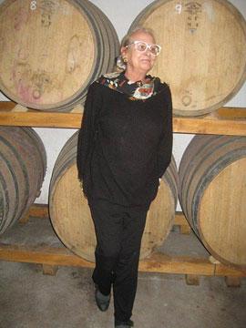 Franca Spinola, proprietor of La Parrina