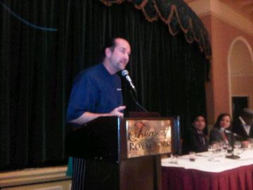 Michael Pataran, winning chef at Baah!