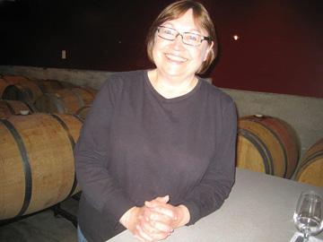 Garry Oaks winemaker Elaine Kozack