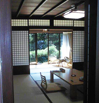 Our room at the ryokan