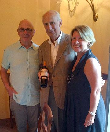 Deborah and Tony with Leonardo Frescobaldi