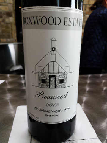 Boxwood Estate 2012