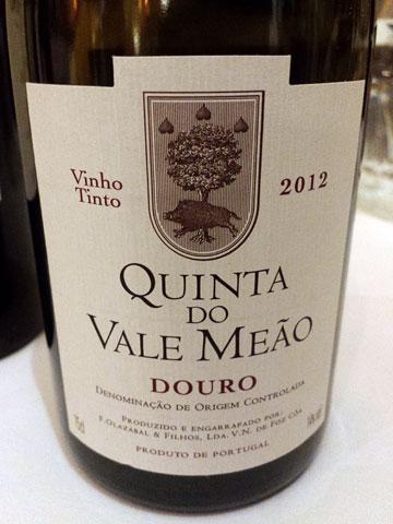 Quinta do Vale Meão Douro 2012