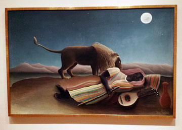 Henri Rousseau painting