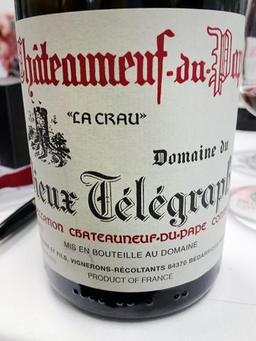 Vieux Telegraphe Châteauneuf-du-Pape 2011 'Le Crau'