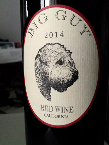 Big Guy Red Wine 2014