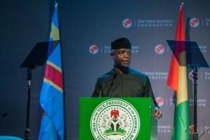 REMARKS BY H.E PROF. YEMI OSINBAJO, SAN, GCON, VICE PRESIDENT OF THE FEDERAL REPUBLIC OF NIGERIA,