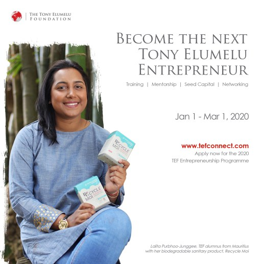 TEF Entrepreneurship Programme 2020